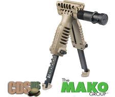 MAKO FAB DEFENSE GRIP FOREGRIP BIPOD T-POD INCORPORATED FLASHLIGHT T-PODSL TAN T