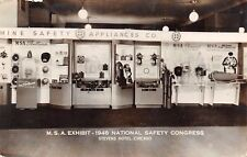 Chicago 1948 Safety Congress~Mine Safety Apps: Skullguards~Fume Exhauster~RPPC