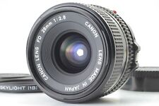 【Top MINT】 Canon New FD 28mm f/2.8 NFD Wide Angle MF Lens From JAPAN #307