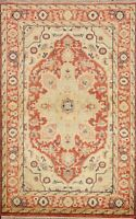 Traditional Geometric Indo Heriz Oriental Area Rug Hand-knotted Home Decor 4'x6'