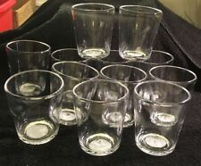 Lot of 12 Threshold Clear Short Tumblers-14oz-Outdoor-Dec k-Pool Glasses