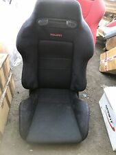 HONDA JDM LEFT INTEGRA TYPE R DC2 DB8 FRONT BLACK RECARO SEAT NO SEATRAIL ITR