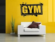 Wall Decor Art Vinyl Sticker Mural Poster Fittness CrossFit Gym Fit Life SA895