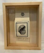 "NATURAL LIGHT OAK SHADOWBOX FRAME W/GLASS 8"" X 10"" X 2.5"" DEEP NEW ORIGINAL BOX"
