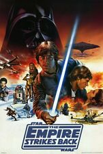 """The Empire Strikes Back Movie Poster [Licensed-New-Usa] 27x40"""" Theater Size (C)"""