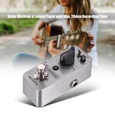MOOER Groove Loop Drum Machine & Looper Pedal 3 Modes Recording Tap Tempo M1W8