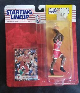 1994 BJ ARMSTRONG Starting LineUp NBA Chicago Bulls ROOKIE Figure Iowa