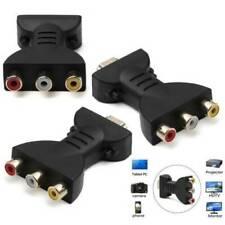 Top HDMI Male to 3 RCA Female Composite AV Video Audio Adapter Converter for TV