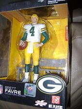 NFL Brett Favre Green Bay Packers  6in Action Figure Boxed Set McFarlane Toys
