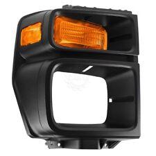 Headlight Trim Bezel w/ Parking Turn Signal Light Lamp Passenger Right for E150