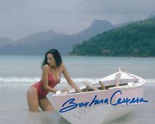BARBARA CARRERA SIGNED JAMES BOND NEVER SAY NEVER AGAIN PHOTO - UACC AUTOGRAPH