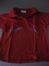 Poloshirt T-Shirt Shirt Gr. 128 Kids Rot - PAPAS SÜSSE - Wunderschön