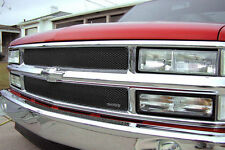 1994 1995 1996 1997 1998 CHEVY SILVERADO 2PC BLACK MESH GRILLE GRILLCRAFT