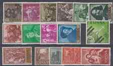 SPAIN - ESPAÑA - YEAR 1959 COMPLETE WITH ALL STAMPS MNH