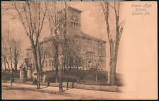EASTON PA High School Antique Town View Postcard Early Old Vtg Pennsylvania PC
