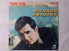 """RICHARD ANTHONY Cin cin 7"""" EN ITALIEN"""