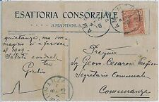 CARTOLINA d'Epoca ASCOLI PICENO provincia - Amandola 1910
