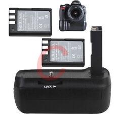 Camera Battery Grip for Nikon D40 D40x D60 2 En-el9 Battery