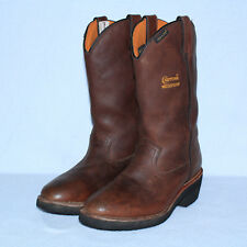 NEW Chippewa 72142 Waterproof Insulated Wellingtons Western Work Boots Sz 8M