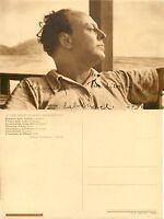 Autografo dello scrittore Nino Salvaneschi (Pavia, 1886 - Torino, 1968)