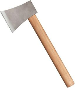 Cold Steel Competition Throwing Axe Knife 1055HC Steel Blade Hickory Handle