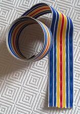 1 mètre de ruban NEUF pour la médaille des blessés militaires, largeur: 37 mm.