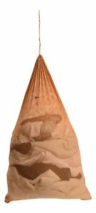 Premium Heavy-Duty Mesh Laundry Bag - Clothes Hamper w/ Drawstring - Camel