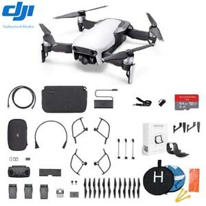 DJI Mavic Air Fly More Combo Plus starter Kit Bundle Arctic White