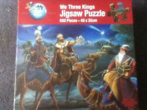 WE THREE KINGS - 500 PIECE JIGSAW PUZZLE - NEW & SEALED - RARE