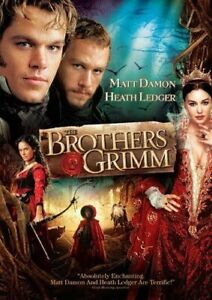 Like New WS DVD The Brothers Grimm Matt Damon Heath Ledge Monica Bellucci
