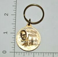JC Penney Golden Rule Award Medal Key Chain VTG Memorial Token Key Chain Service