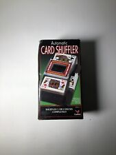 New ListingCardinal Automatic Poker And Game Card Shuffler 1 or 2 Decks