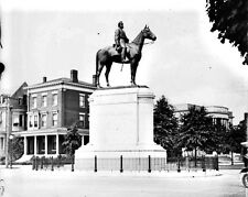 New 8x10 Civil War Photo: Monument to Thomas Stonewall Jackson in Richmond