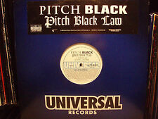 PITCH BLACK - PITCH BLACK LAW (VINYL 2LP) 2004!! RARE ♫