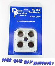 13909 Dillon Precision RL 550 TOOLHEAD Precision Tool holder 13909 Authentic !