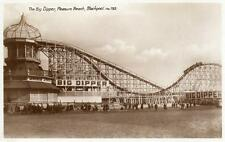 More details for the big dipper pleasure beach blackpool unused rp pc