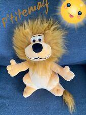 Peluche 2017 Lion crédit lyonnais 30cms.