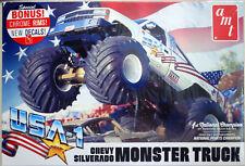 Chevrolet Silverado Monster Truck USA 1 1:25 AMT 1252 wieder neu 2021
