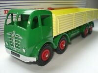 Atlas Dinky Supertoys 901 Green +Yellow Foden 8 Wheel Wagon Mint/Boxed