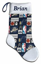 Personalized NBA Utah Jazz Basketball Christmas Stocking