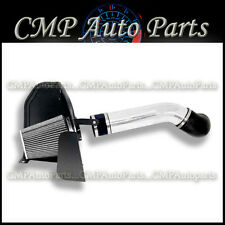 BLACK SILVER 07 08 CHEVROLET SILVERADO 1500 4.8L 5.3L 6.0L COLD AIR INTAKE KIT