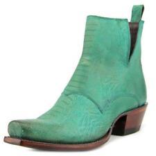 Calzado de mujer de color principal verde de piel talla 38
