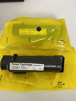 Lot Of 2 BLACK TONER CARTRIDGE FOR XEROX PHASER 6510, WORKCENTRE 6515