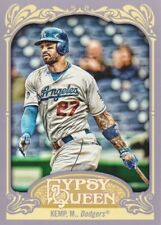 2012 Topps Gypsy Queen Baseball #44B Matt Kemp VAR SP Los Angeles Dodgers