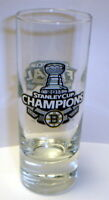 BOSTON BRUINS 2011 STANLEY CUP CHAMPS champions SHOT GLASS #2