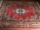 Vtg Oriental Classic 100% Worsted  Wool Decorator Rug  Jacquard Looms in USA