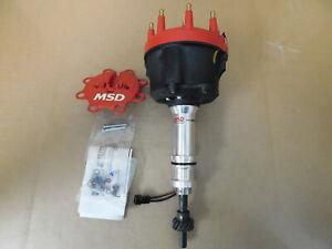 MSD 8598 Pro Billet SB Ford 221-302 Distributor, Mech Adv, Magnetic Pick Up