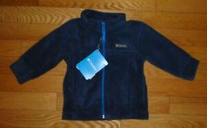 Columbia Sportswear Baby Toddler Boys Birch Falls Fleece Jacket Blue 6M 12M 18M