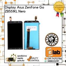 DISPLAY LCD TOUCH SCREEN VETRO PER ASUS ZENFONE GO ZB551KL X013D NERO SCHERMO
