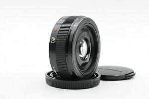 Panasonic Lumix G 20mm f1.7 Lens MFT #540